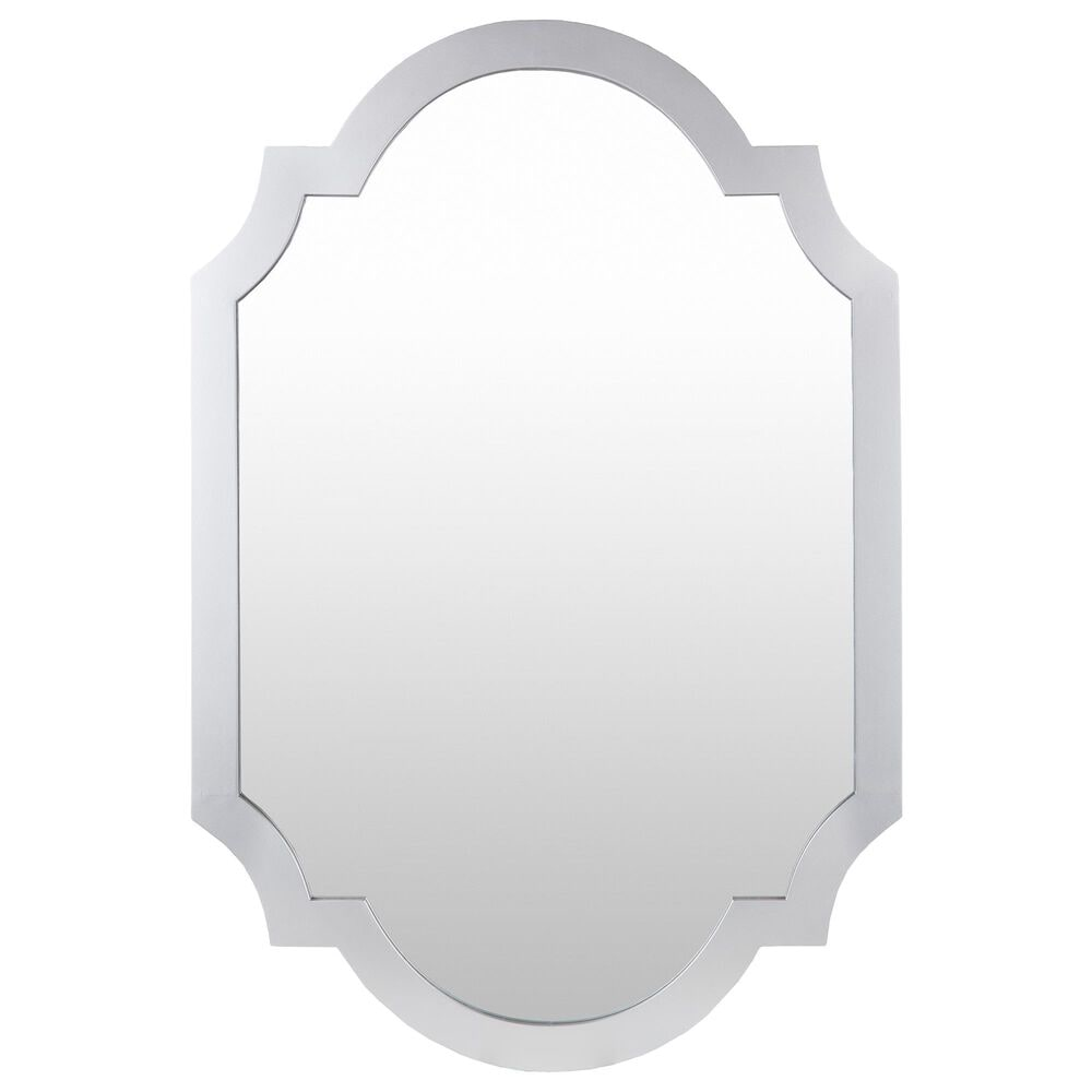Surya Inc Norway Wall Mirror in Silver, , large