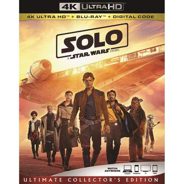 Solo: A Star Wars Story [4K + Blu-ray], , large