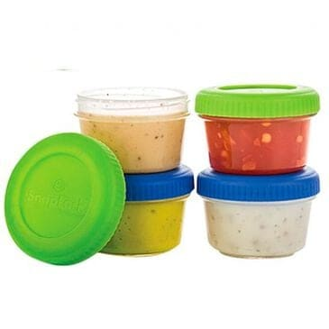 Progressive Snap Lock Dressing To Go Container Set of 4, , large