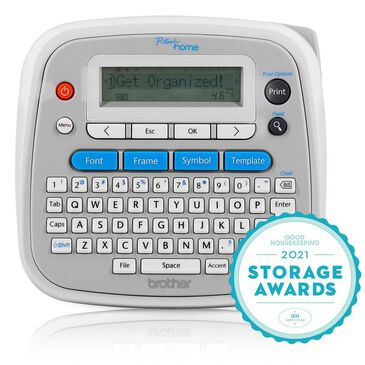 Brother P-Touch Home Personal Label Maker in White and Gray, , large