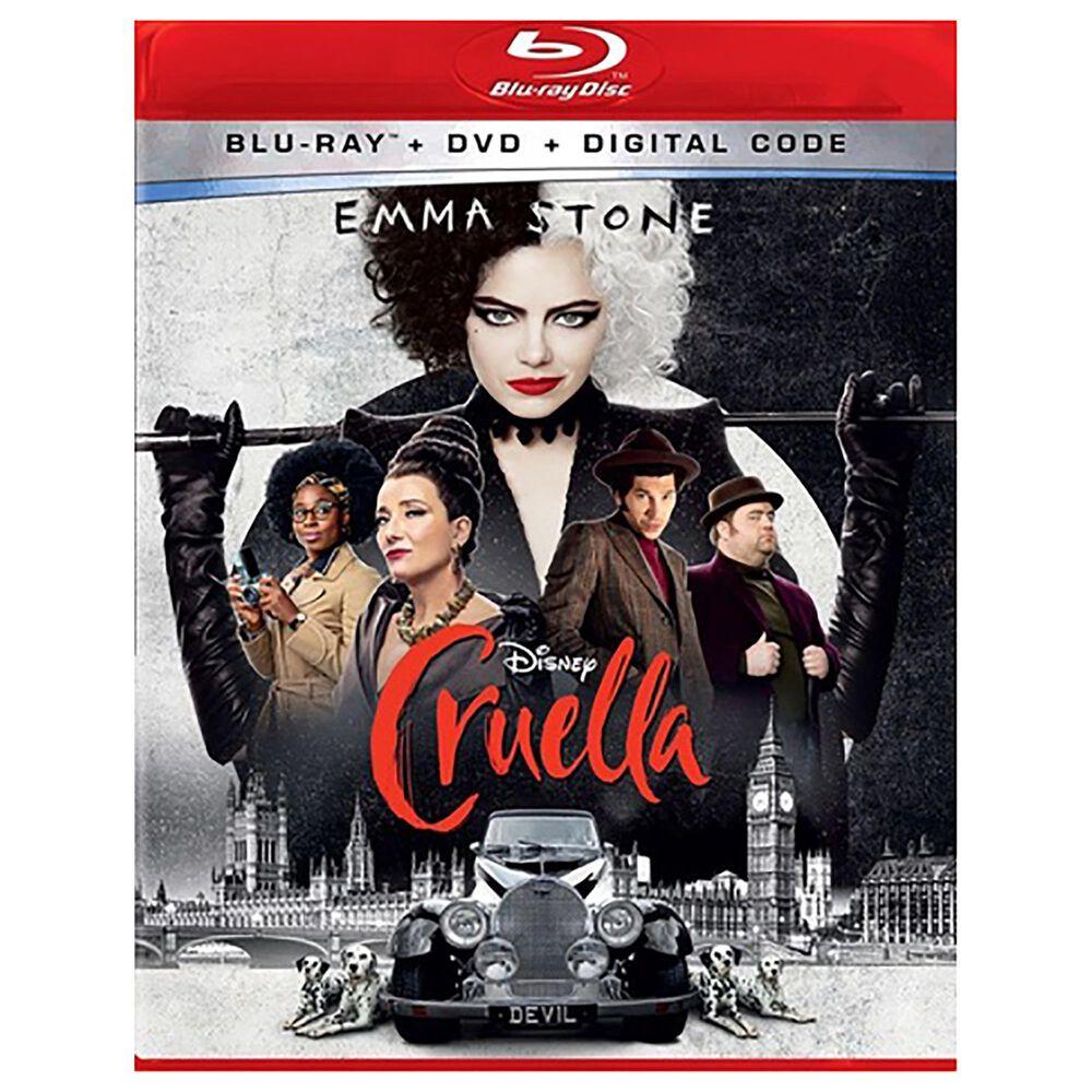 Cruella [Blu-ray + DVD + Digital], , large