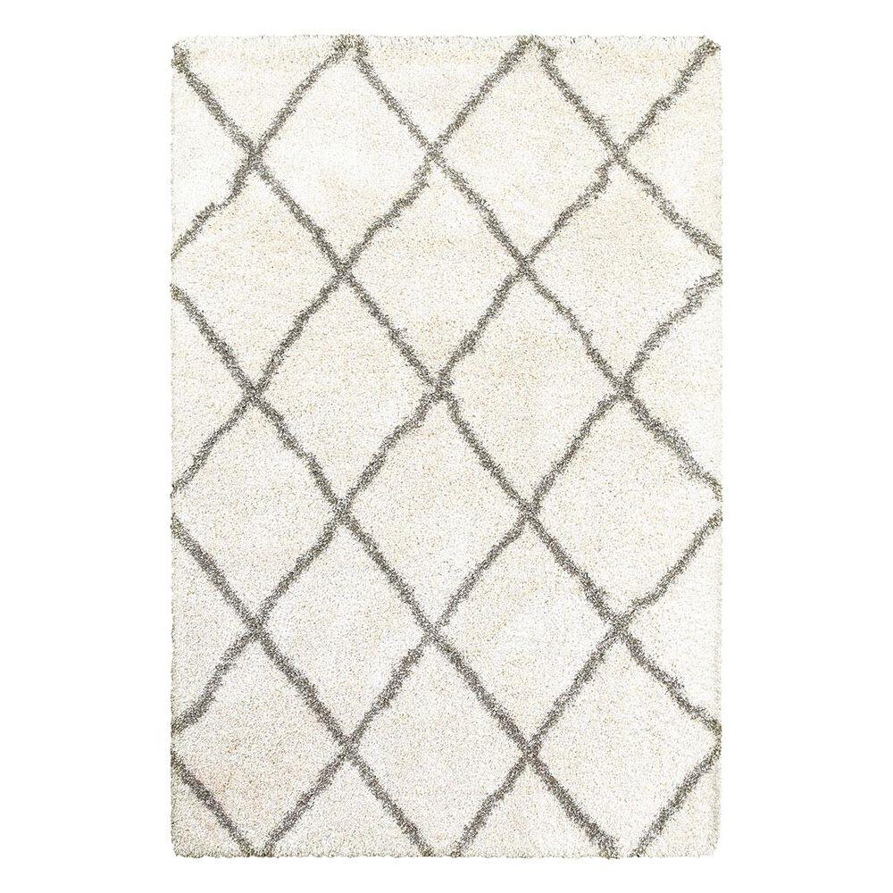 "Oriental Weavers Henderson 90W 6""7"" x 9""6"" Ivory/Grey Area Rug, , large"