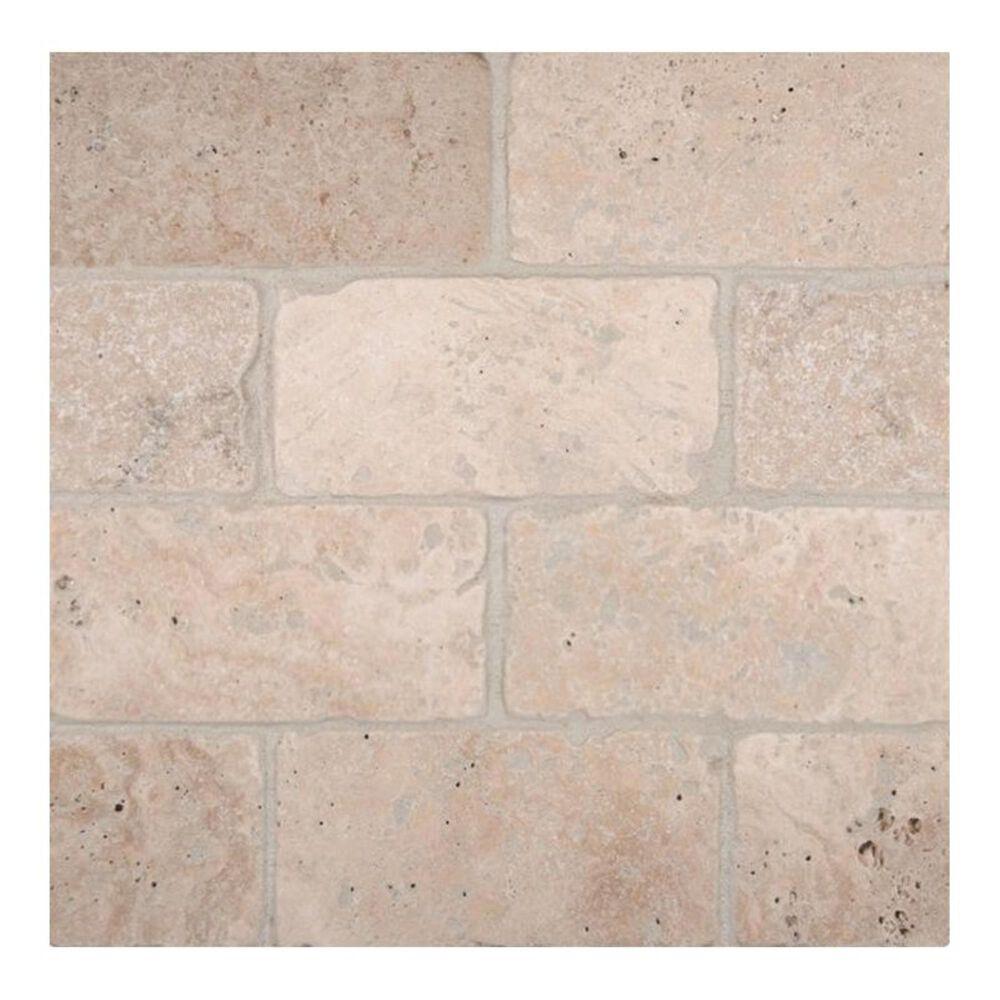 "MS International Tuscany Classic Beige 3"" x 6"" Natural Stone Tile, , large"