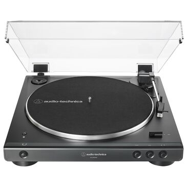 Audio-Technica Fully Automatic Wireless Belt-Drive Turntable in Black, , large