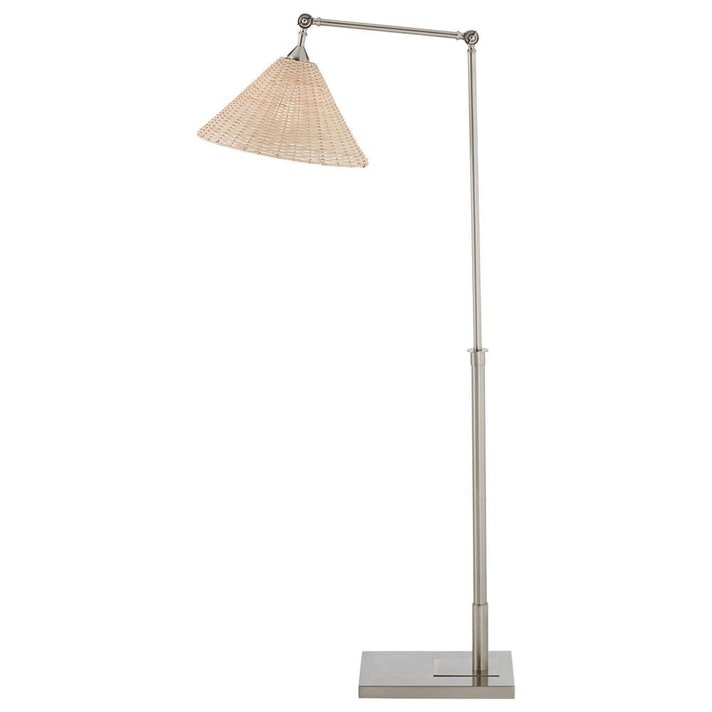 Pacific Coast Lighting West Palm Floor Lamp in Brushed Nickel and Brushed Steel, , large