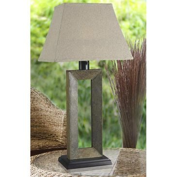 Kenroy Egress Outdoor Table Lamp in Natural Slate, , large