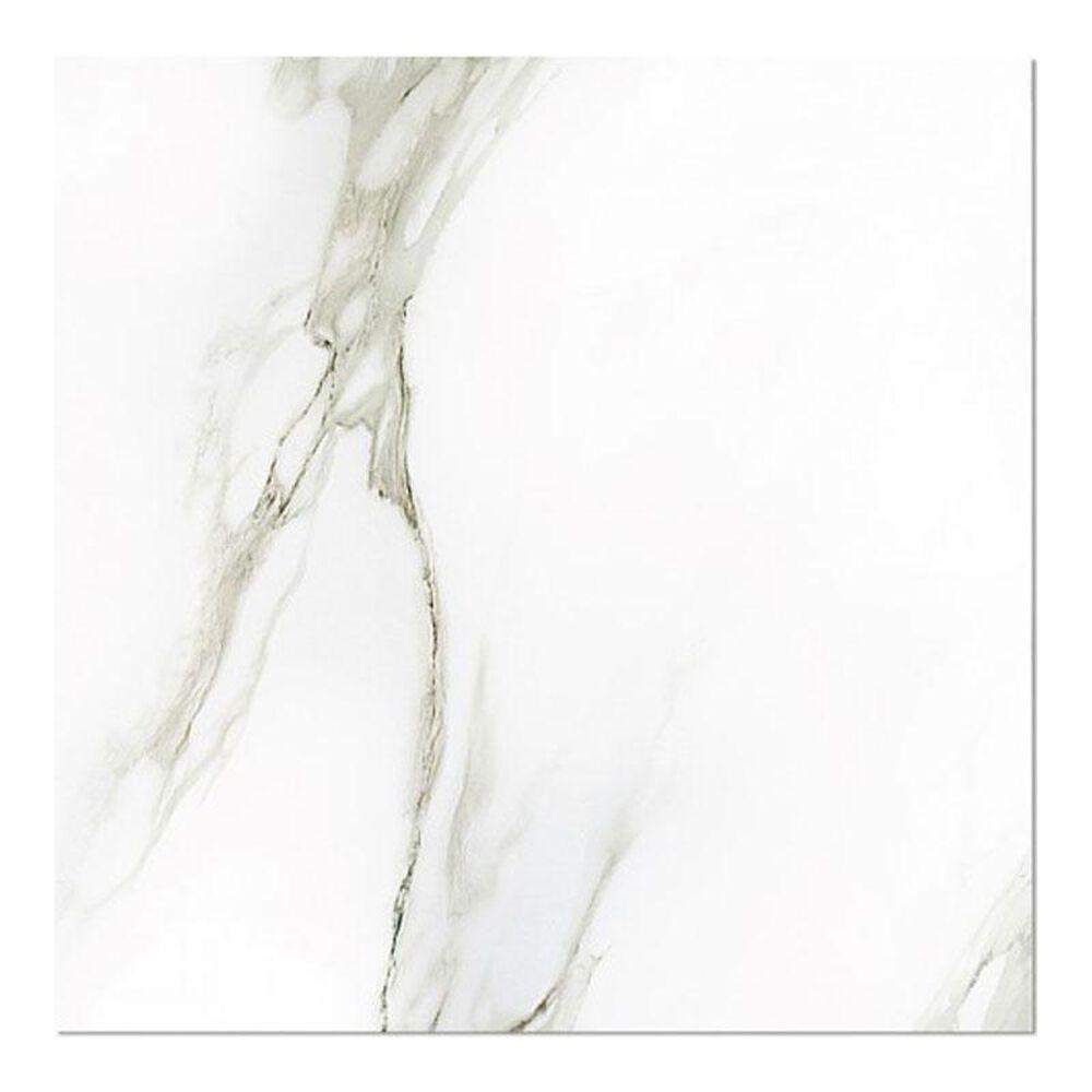 "Eleganza Gemstone White Calacatta 24"" x 24"" Porcelain Tile, , large"