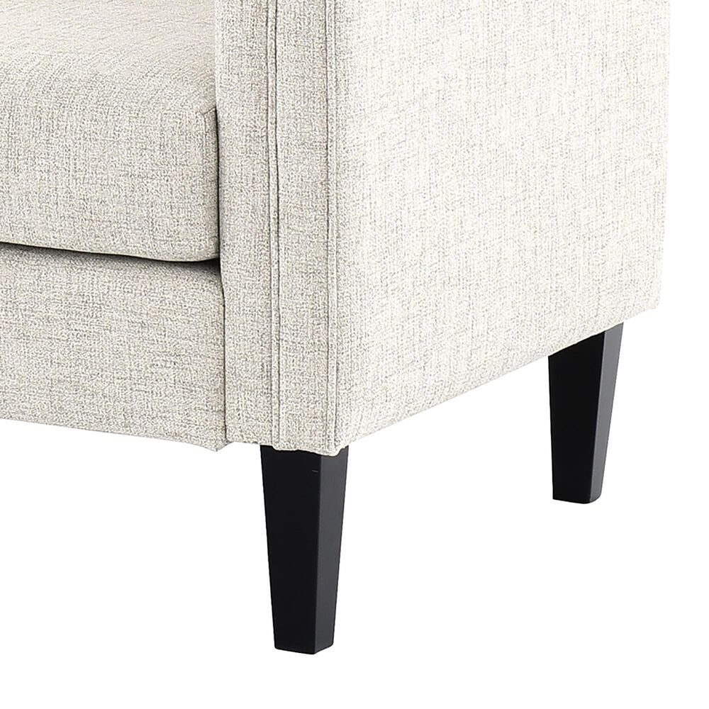 Signature Design by Ashley Jeanay Stationary Accent Settee in Beige, , large