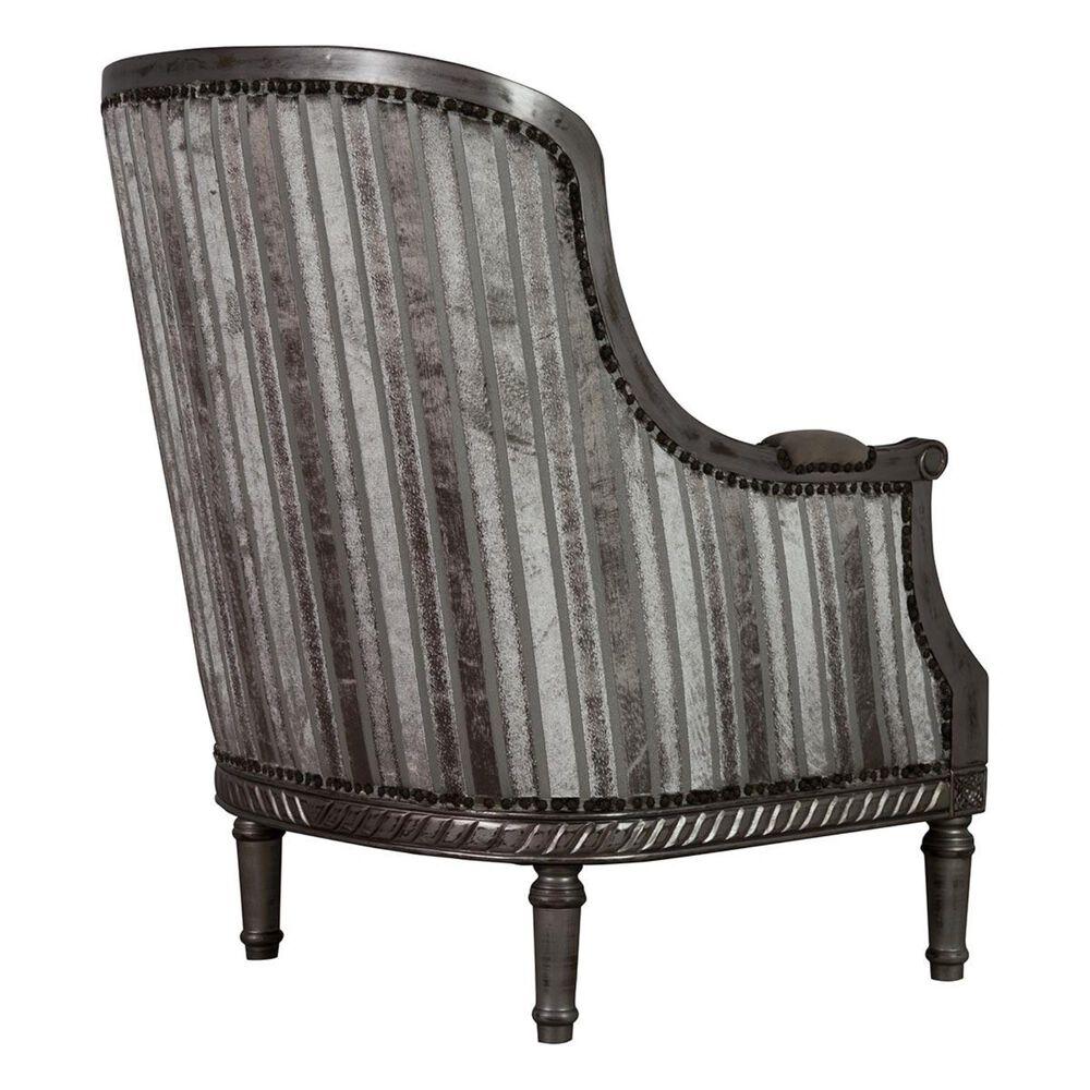 Aria Designs Occasional Chair in Multi-Color Velvet , , large
