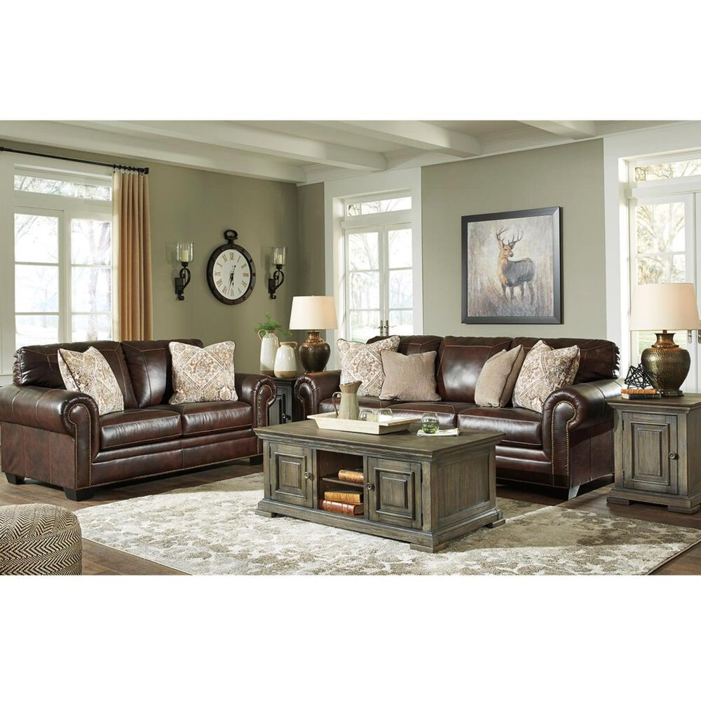 Signature Design by Ashley Roleson Sofa in Walnut, , large