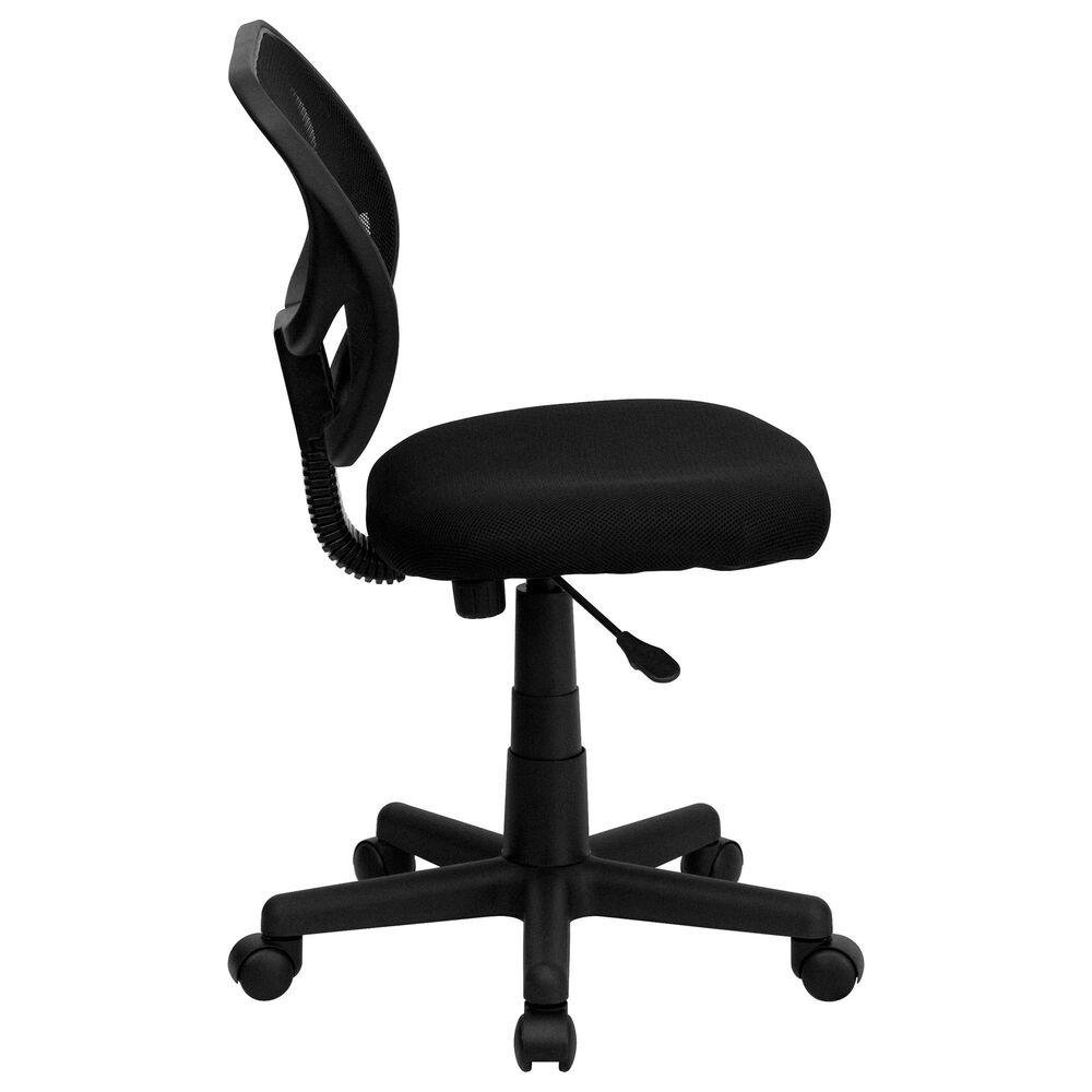 "Flash Furniture 34.5"" Swivel Task Chair in Black, , large"