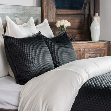 Greenbrier Interiors Diamond Onyx 3-Piece Queen Coverlet Set , , large