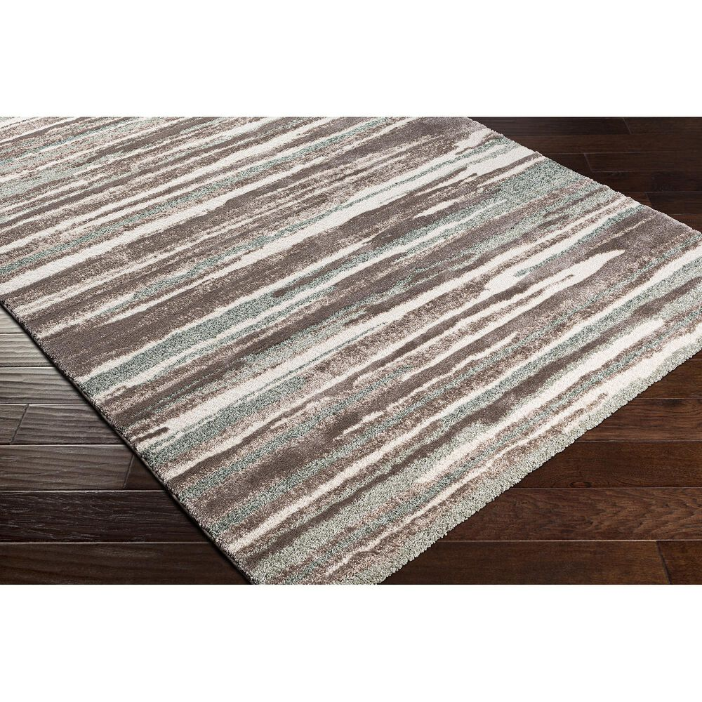 """Surya Cielo 5'3"""" x 7'3"""" Sage, White, Beige and Camel Area Rug, , large"""