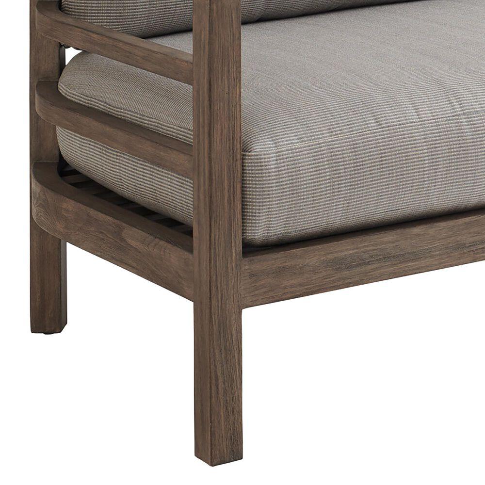 Lexington Furniture La Jolla Patio Outdoor Sofa in Weathered Gray, , large