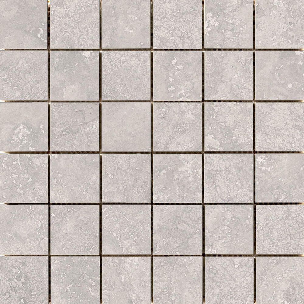 "Emser Costa Gray 2"" x 2"" Square on 12"" x 12"" Ceramic Mosaic Sheet, , large"