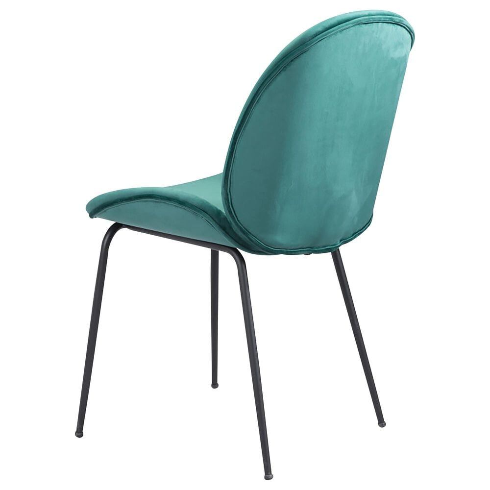 Zuo Modern Miles Dining Chair in Green, , large