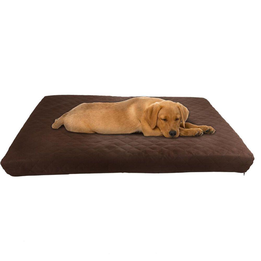 Timberlake Petmaker Medium Waterproof Pet Bed in Brown, , large