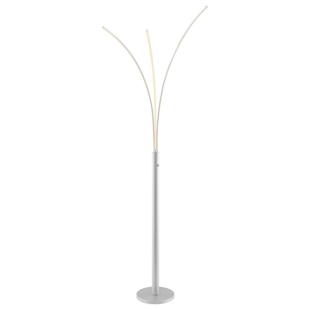 Lite Source Monita Led 5-Lite Arch Lamp in Silver, , large