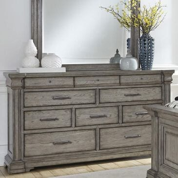 Chapel Hill Madison Ridge 10 Drawer Dresser in Bluff Gray, , large