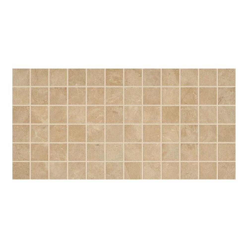 "Dal-Tile Affinity Beige 12"" x 24"" Porcelain Mosaic Sheet, , large"