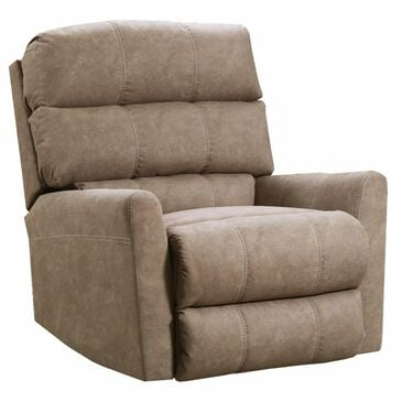 Simmons Upholstery Power Rocker Recliner in Palermo Khaki , , large