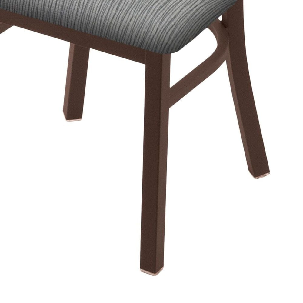 """Holland Bar Stool 620 Catalina 18"""" Chair with Bronze and Graph Alpine Seat, , large"""