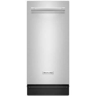 KitchenAid 1.4 Cu. Ft. Built-In Trash Compactor in Stainless Steel , , large