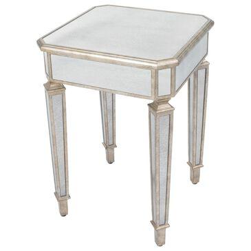 Butler Celeste End Table in Silver, , large