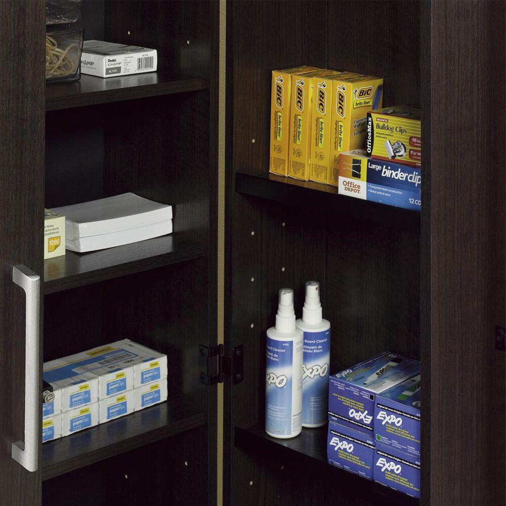 Sauder HomePlus Large Storage Cabinet with Door in Dakota Oak, , large