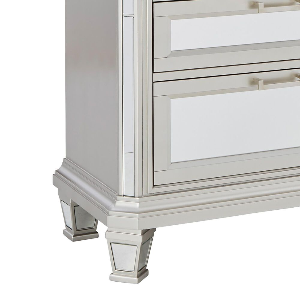 Signature Design by Ashley Lindenfield Dresser and Mirror in Silver, , large