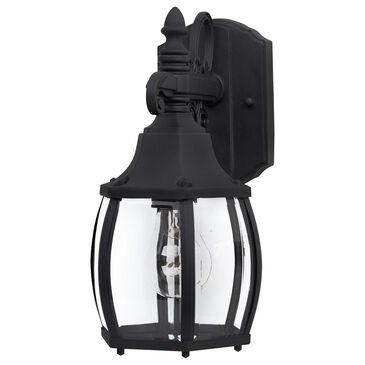 Maxim Lighting Crown Hill 1-Light Outdoor Wall Lantern in Black, , large