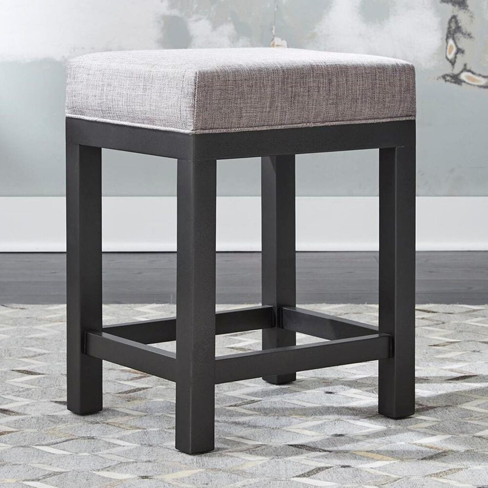 """Belle Furnishings Tanners Creek 25"""" 3-Piece Upholstered Bar Stool Set in Greystone, , large"""