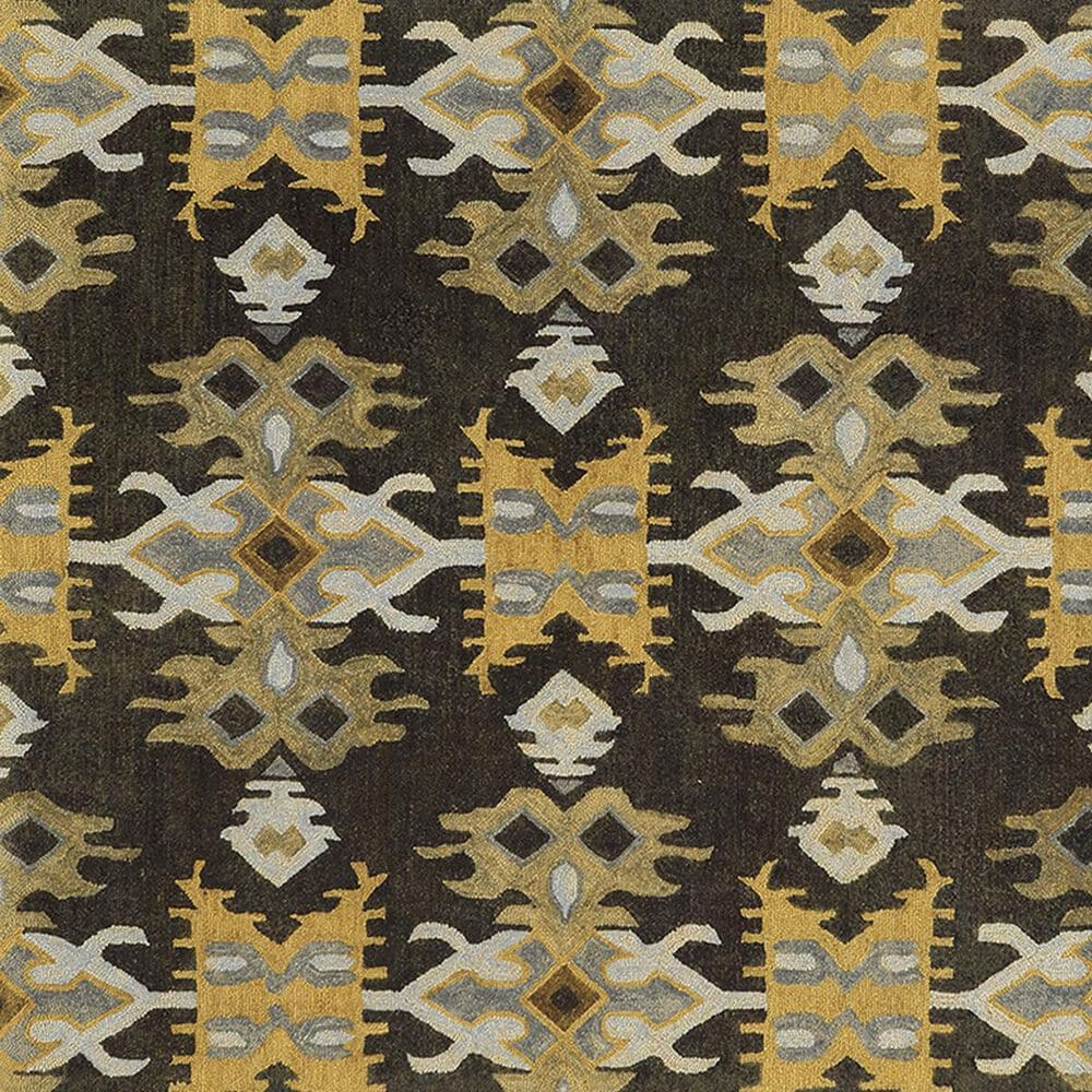 Oriental Weavers Jamison 53305 8' x 10' Black and Gold Area Rug, , large