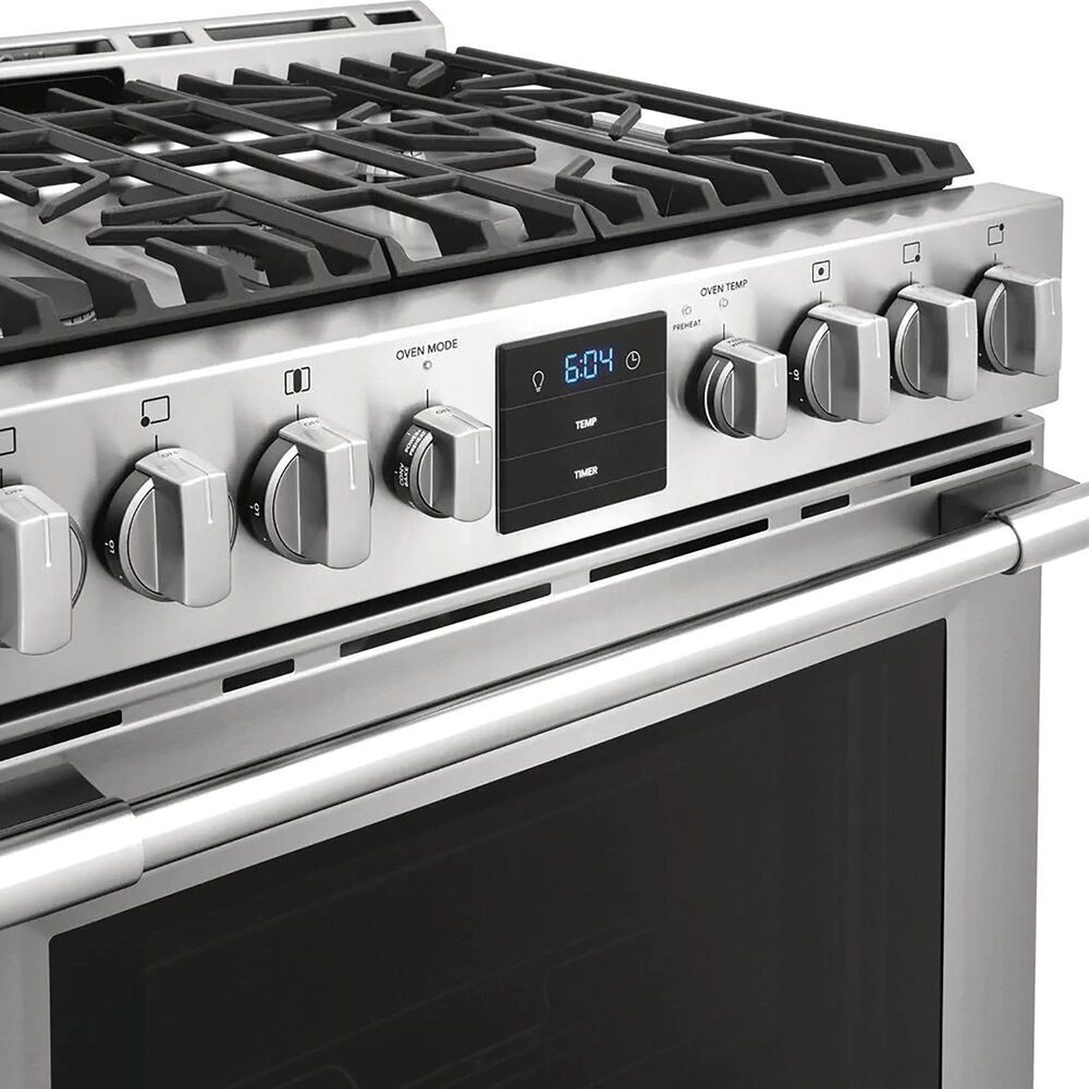 """Frigidaire 30"""" Front Control Gas Range with Air Fry in Stainless Steel, , large"""