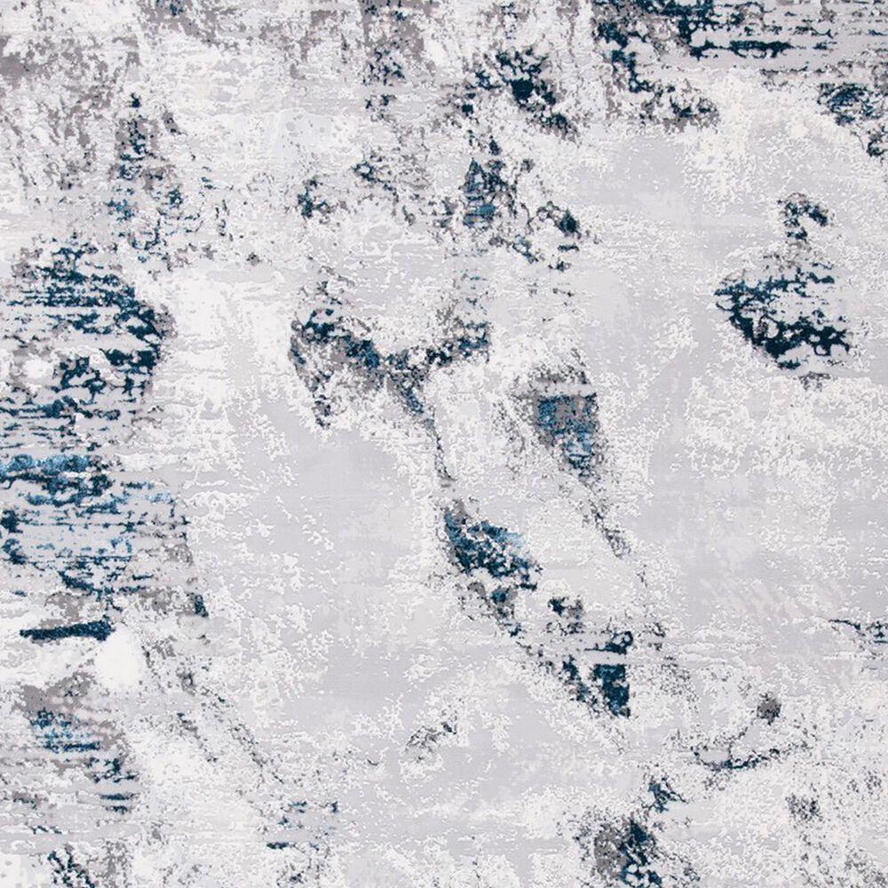Safavieh Amelia AMA232 2' x 8' Grey and Blue Area Rug, , large