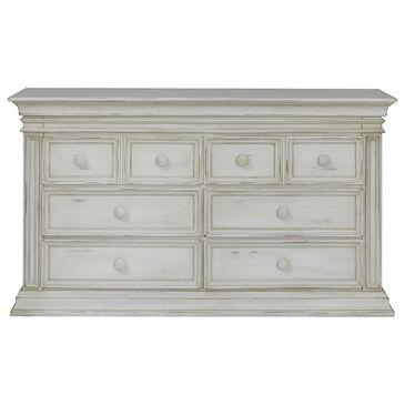 Munire Vienna 6 Drawer Dresser in Antique White, , large