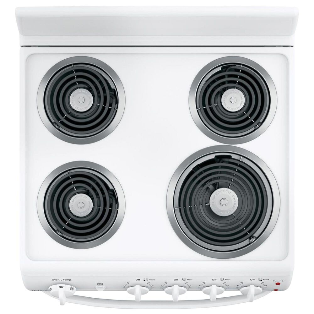 """Hotpoint 24"""" Front-Control Electric Range in White, , large"""