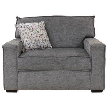 Ball Creek Designs Lyndon Chair in Brevard Greys, , large