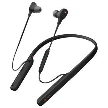 Sony Wireless Noise Canceling In-Ear Headphones in Black, , large