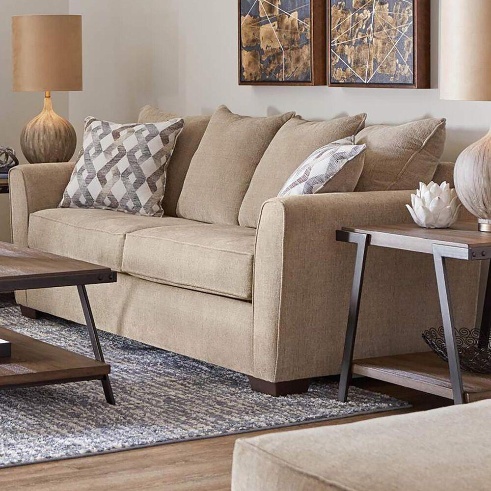 Lane Coleman Stationary Sofa in Surge Mocha, , large