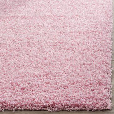 Safavieh Florida Shag SGA119P-4 4' x 6' Pink Area Rug, , large