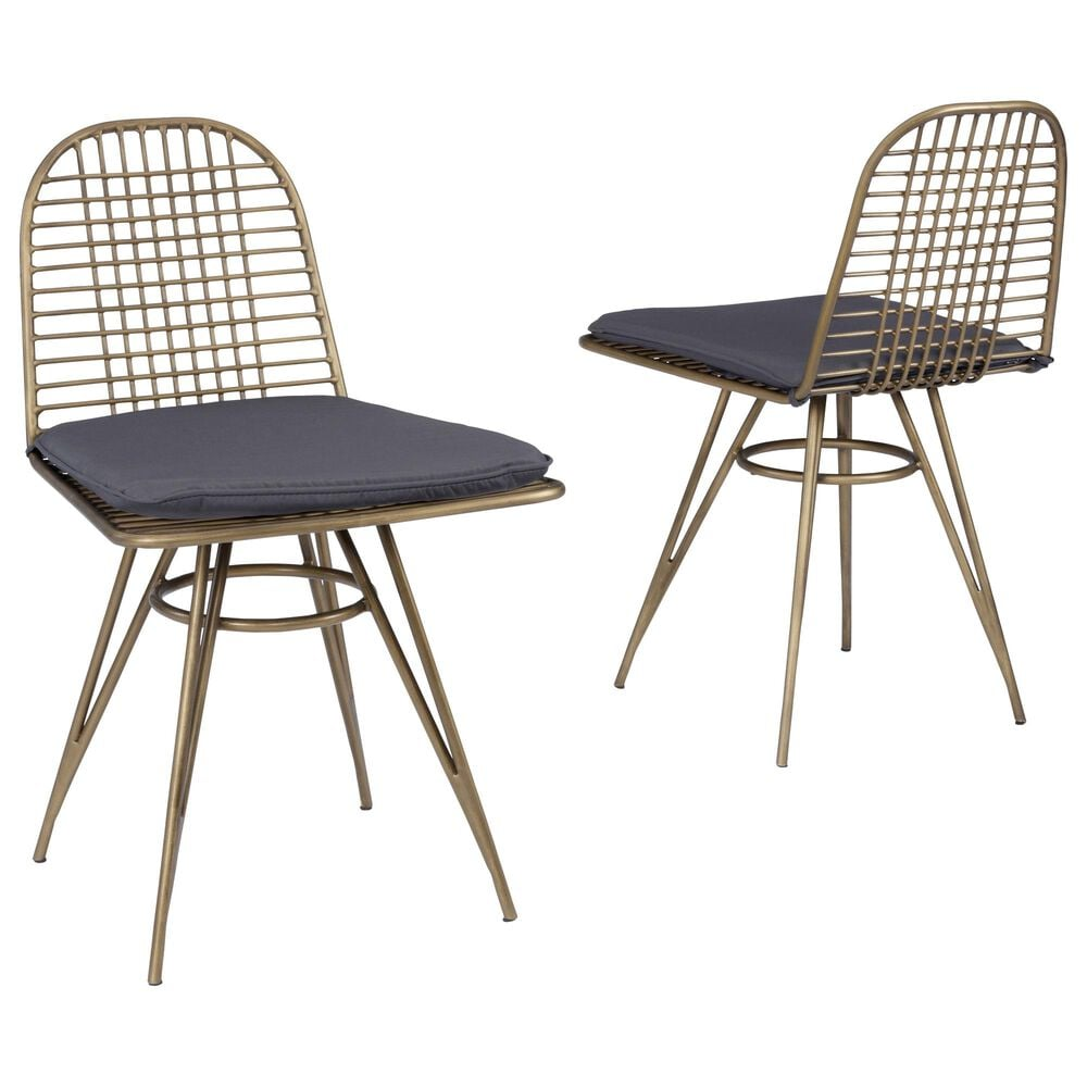 Home Styles Panama Chair in Brown (Set of 2), , large