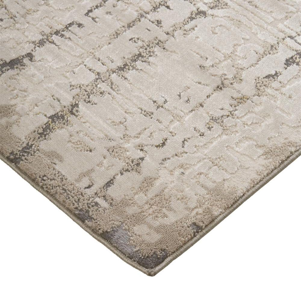 Feizy Rugs Waldor 3683F 5' x 8' Beige Area Rug, , large