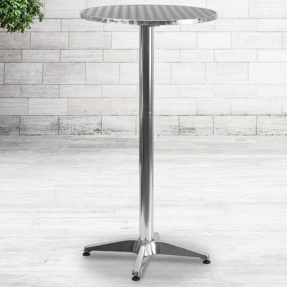 Flash Furniture 2' Folding Bar Table in Gray, , large