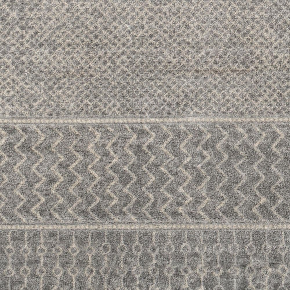 Surya Monaco MOC-2304 2' x 3' Silver, Gray and Cream Scatter Rug, , large