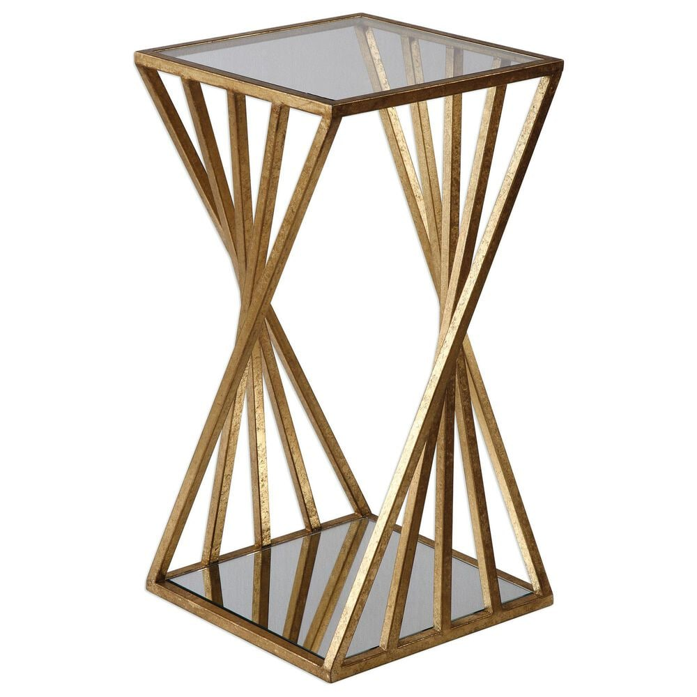 Uttermost Janina Accent Table in Gold, , large