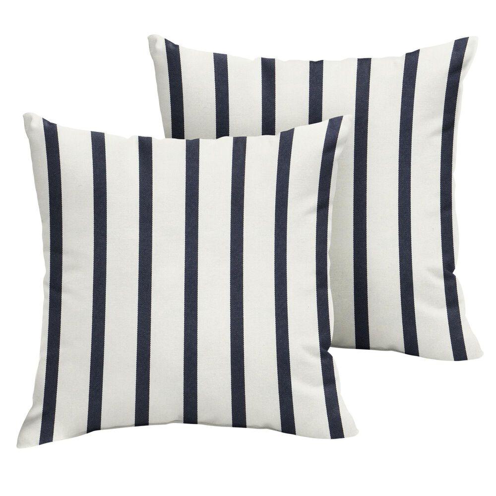 "Sorra Home Sunbrella 22"" Pillow in Lido Indigo (Set of 2), , large"