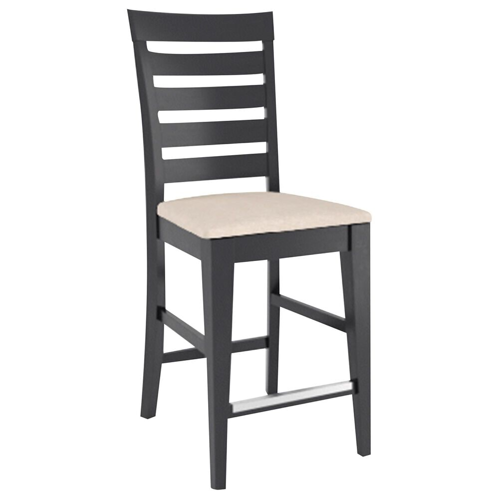 Declan Dining Fixed Stool in Royal Blue, , large