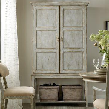 Hooker Furniture Alfresco Vintners Wine Cabinet in Blue, , large