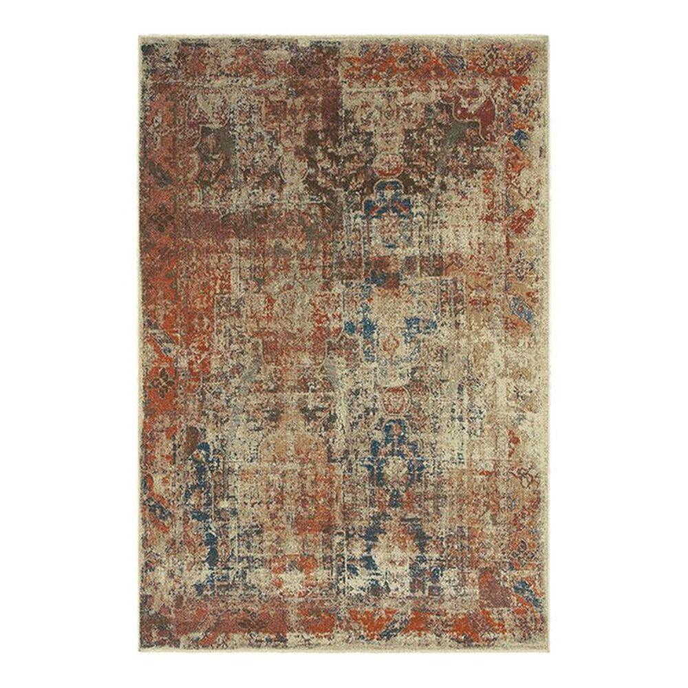 "Oriental Weavers Pasha 521X6 6'7"" x 9'6"" Beige Area Rug, , large"